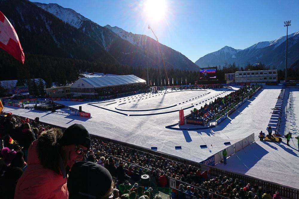 Biathlon Antholz 2022
