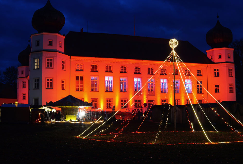 Schloss Tüßling - Weihnachtsmarkt